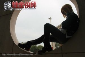Edward Elric cosplay ~ by HiroScathperwolf