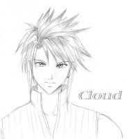 Cloud- Reverse -Sketch by sapphireyuriko