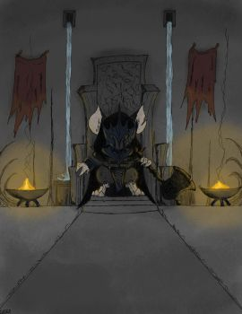 Midnight's Throne - Collab. by SteamMouse