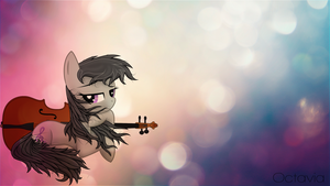 Octavia bokeh wallpaper by AvareQ