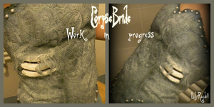 WiP Emily , the Corpse Bride by Lady-Ragdoll