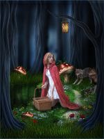 Stalking Red Riding Hood... by TL-Designz