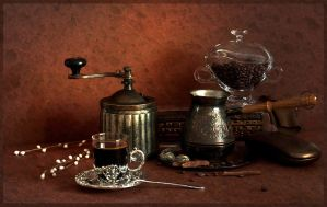 black coffee by mariall