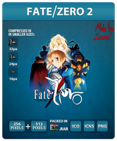 Fate/Zero 2nd Season - Anime Icon by Zazuma