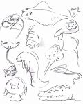 Zoo Sketches by Haiomi