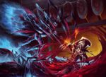 League of legends - Elise vs Vladimir by Myrmirada