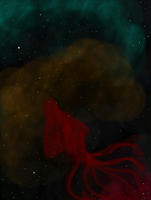 all hail the space squid by rabidminimoose