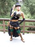 Steampunk Outfit with Attitude by Scarie-Farie