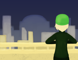 Girl and the City by devyni