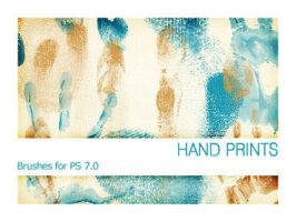 Hand Prints PS 7.0 by Pfefferminzchen
