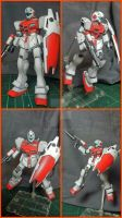RGM-79GS GM Command Space (Gundam 0080) by BazSg