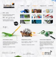 Soft-lab.net - main page by webgraphix