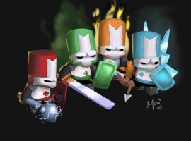 Castle Crashers by amused-mai