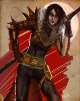 The champion of Kirkwall by Mar-ER
