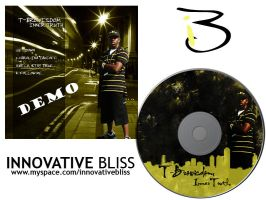 T-Bro inner cover and cd by innovativebliss