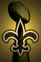 iPhone Wall: New Orleans Saint by iphonemonster