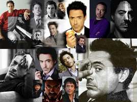 Robert Downey Jr by ghost13warrior