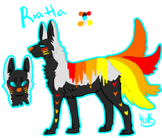 Riatta Reference Sheet by Kama-ItaeteXIII
