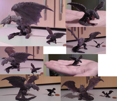 3D model printed out by Animatics