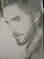 Jared Leto portrait by Paula94Kurt