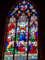 Notre Dame Stained Glass by darchiel