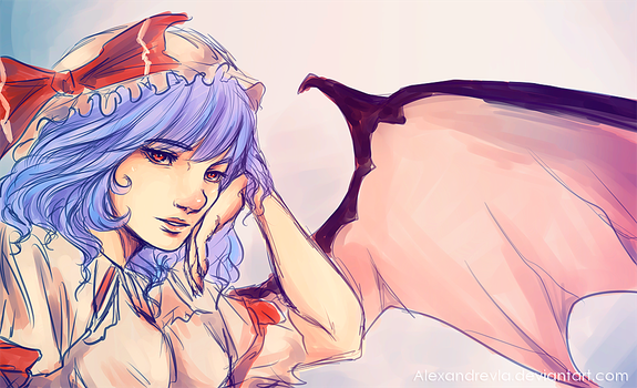 |Remilia sketch by Alexandrevla
