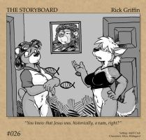 The Storyboard - 026 by RickGriffin