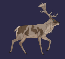 Daily OTA adopt #5 Deer -CLOSED- by Chippie18-Adoptables