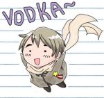 Hetalia Russia Vodkaa by torchicfan24