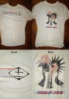 Kenpachi and Yachiru T-Shirt by Sunagirl