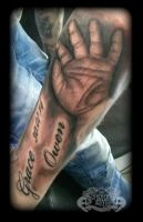 Hand by state-of-art-tattoo