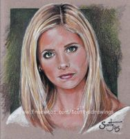 Sarah Michelle Gellar as Buffy by scotty309