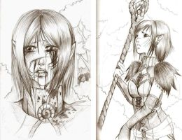 Nienna sketches by drathe