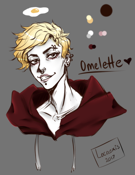 Punk Omelette by Locaexis