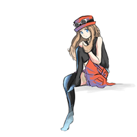 Pokemon X and Y - Serena by HatEatingDragon