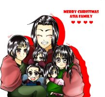 APH Asia Family ~~~ Merry Christmas by pipapipo