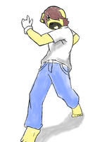 taco85 speed racer pose by Galvin-wolf