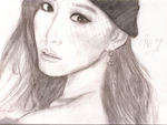 Tiffany from SNSD (Girls' Generation) Sketch by SpicaRy