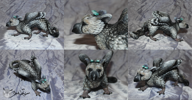 Trico Sculpture 2.0 by Yukilapin
