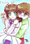 Syaoran x Sakura : Chocolate sweethearts by uomie
