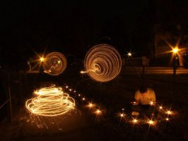 Light Graffiti - candle by LightScribblers