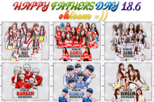20170619 HAPPY FATHERS' DAY OKTEAM ((= by okteam