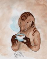 Teacup by Paperiapina