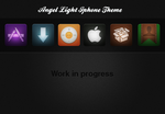 Angel Light Iphone Theme by Beneyto93