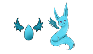Evolving Egg stage 2 by Sisiera