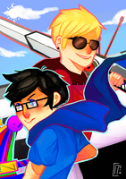[JohnDave] Time Flies When I'm With You by Nein-Cereal