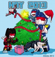 HNY 2013 by MZ15