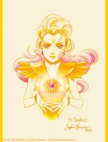 Sailor Galaxia Art Trade for Saniika by ChibiSofa