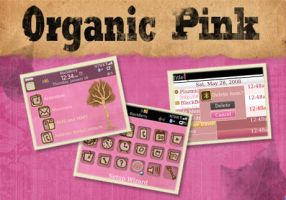 Organic Pink Blackberry Theme by charmay13