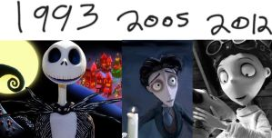 Tim burton: Boys by SamApeace